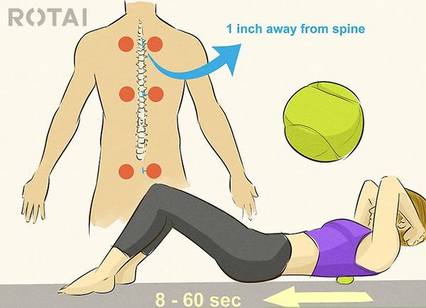 ماساژ عضلات تراپزی (ذوزنقهای)
