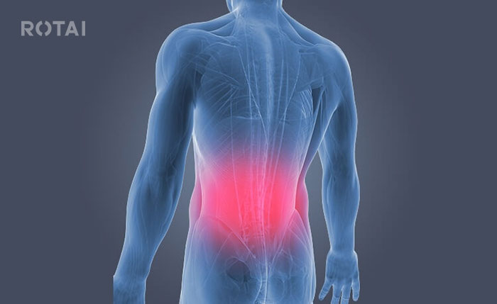 ماساژ درمانی دیسک کمر